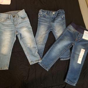 Toddler jeggings/jeans lot